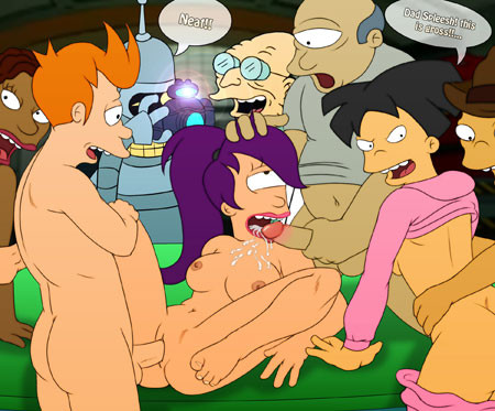 Naked pictures from futurama